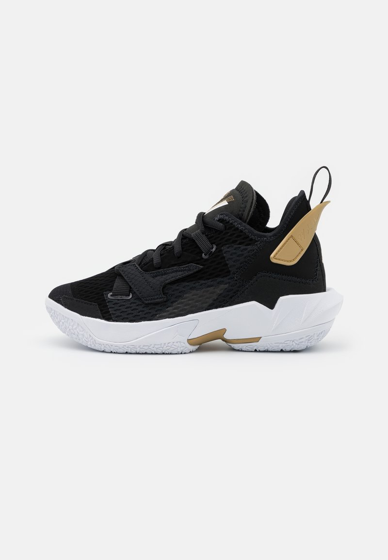 Jordan - WHY NOT ZER0.4 BG UNISEX - Chaussures de basket - black/white/metallic gold