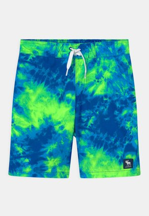 BOARD - Swimming shorts - blue/green