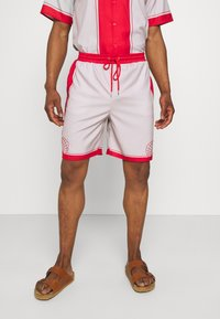 Mennace - SHELL PRINT PULL ON - Shorts - red - 0
