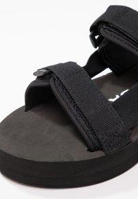 Vero Moda - VMLIA - Sandales à plateforme - black - 2