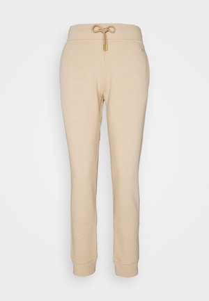 LUX TRACK PANTS - Pantalones deportivos - camel