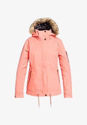 MEADE - Snowboard jacket - fusion coral