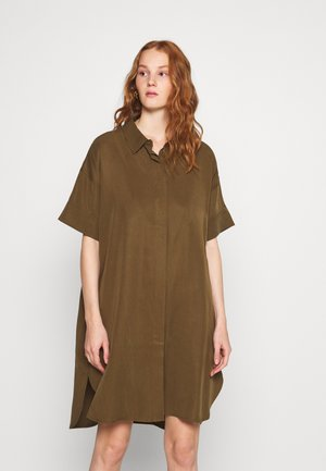 ARABELLA TUNIC - Button-down blouse - beech