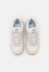 New Balance - 574 - Matalavartiset tennarit - white - 5