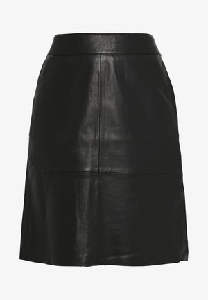 BERTA SKIRT - Gonna a campana - black