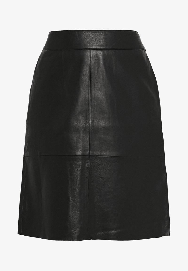 Culture - BERTA SKIRT - A-line skirt - black