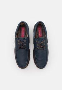 Blue Heeler - FENDER UNISEX - Boat shoes - navy - 3