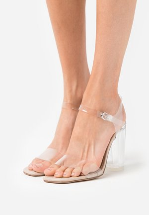 ADENA - High heeled sandals - clear