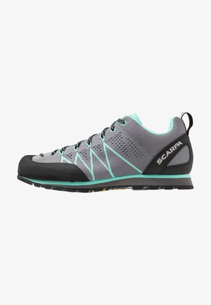 CRUX AIR - Walking trainers - smoke/ice green