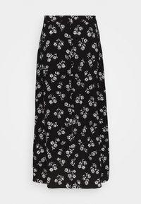 kate spade new york - NERISSA FLORAL SKIRT - Pouzdrová sukně - black - 0