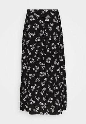 NERISSA FLORAL SKIRT - Pencil skirt - black