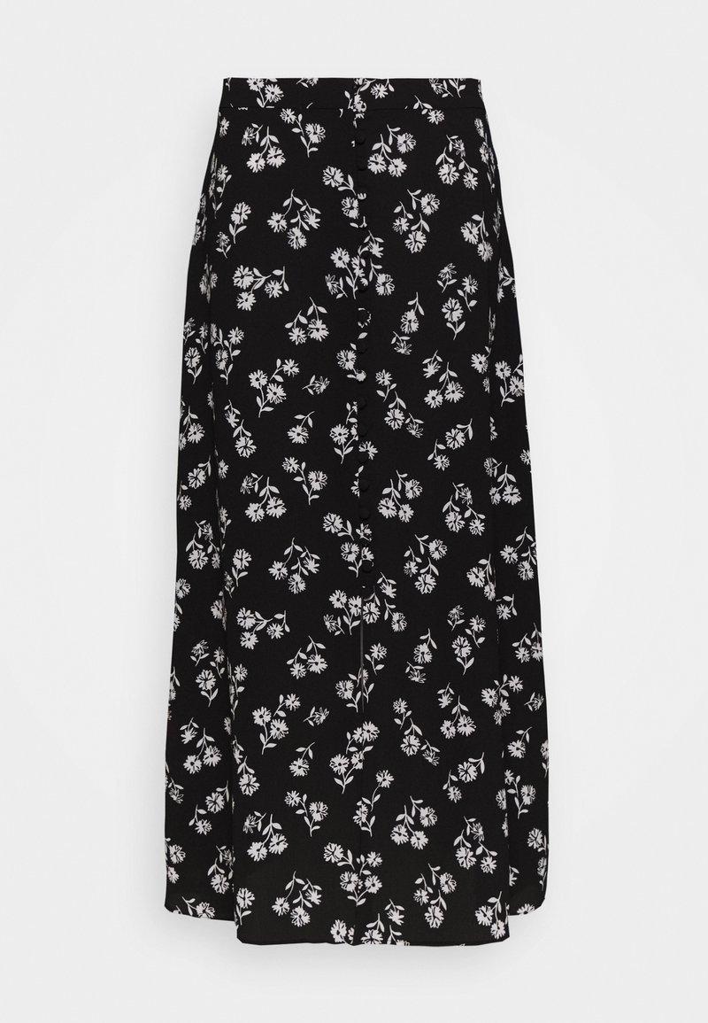 kate spade new york - NERISSA FLORAL SKIRT - Pouzdrová sukně - black