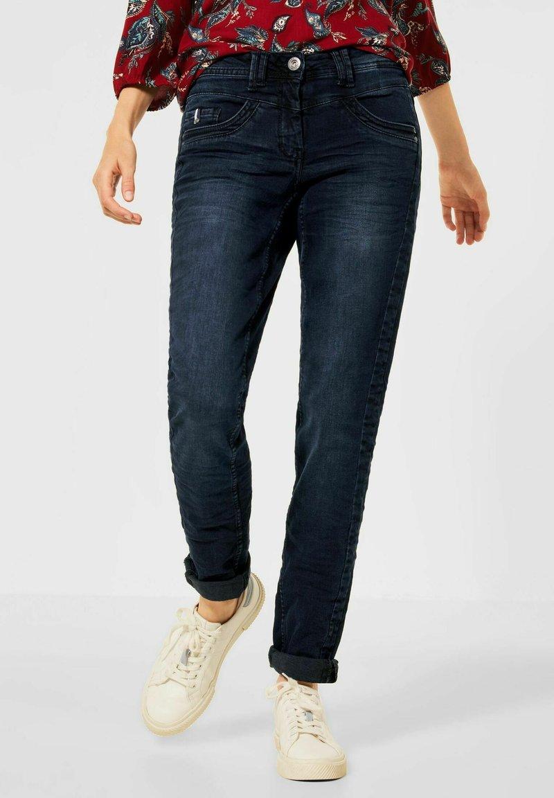 Cecil - Slim fit jeans - blau