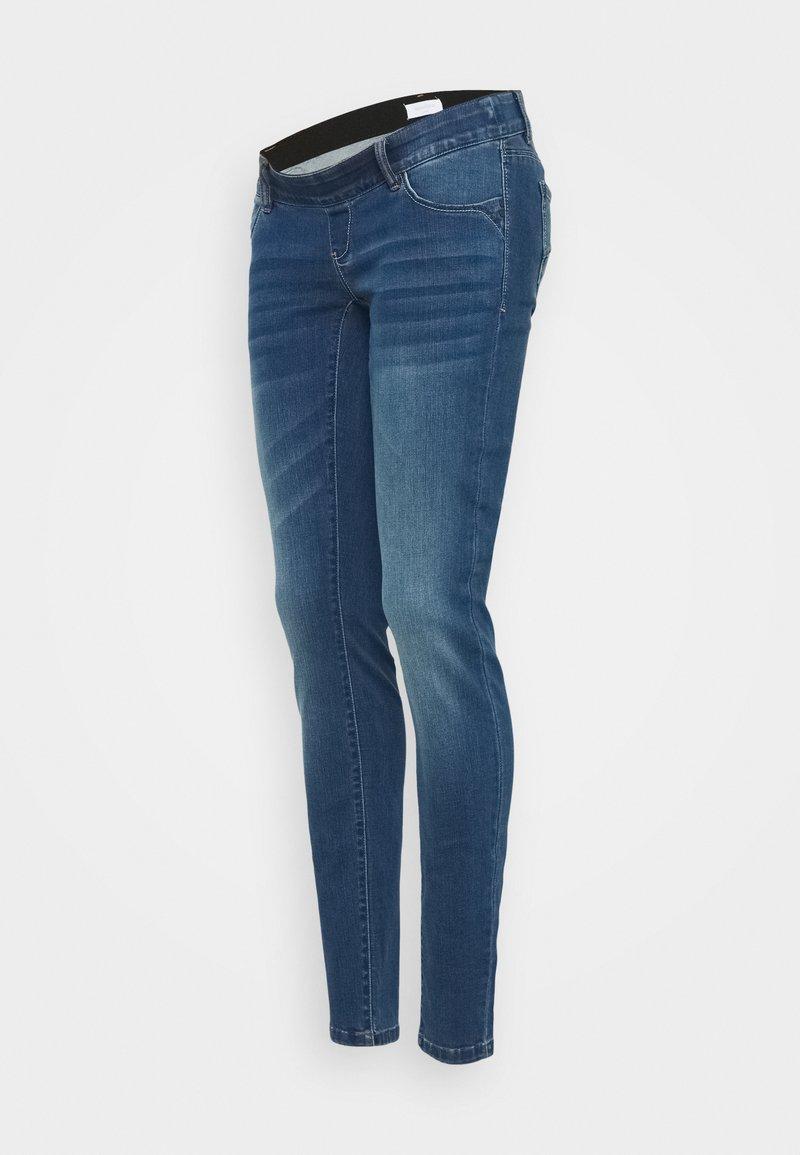 MAMALICIOUS - MLKOKO - Slim fit jeans - dark blue denim