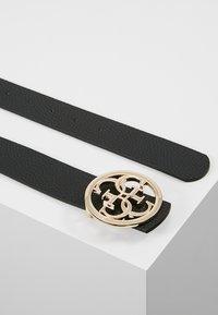 Guess - BOBBI BELT - Cintura - black/white - 2
