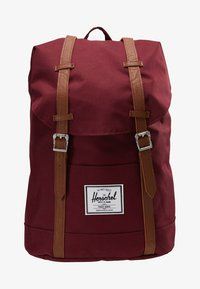 Herschel - RETREAT  - Mochila - bordeaux/marron - 6