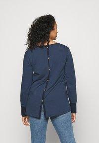 Ragwear Plus - MALINA - Long sleeved top - navy - 2