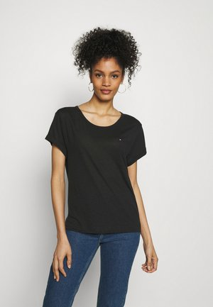 RELAXED - Print T-shirt - black