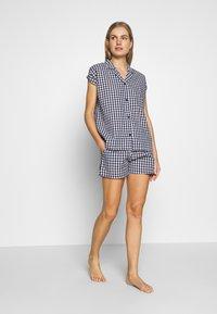 Esprit - DADAH CAS SET - Pyjama set - navy - 1