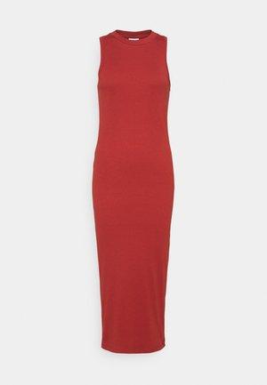 VMLAVENDER CALF DRESS  - Jersey dress - chili oil