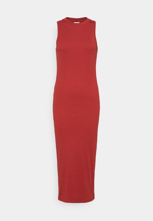 VMLAVENDER CALF DRESS  - Žerzejové šaty - chili oil