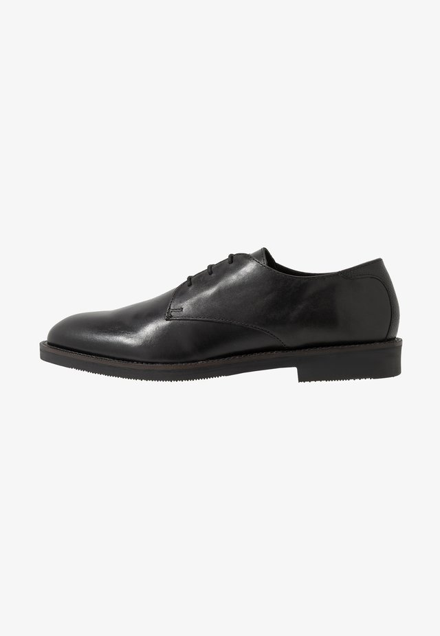 KARTER DERBY - Smart lace-ups - black