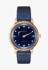 Timex - WOMENS AUTOMATIC CASE DIAL CROCO - Hodinky - blue - 1