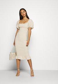 Never Fully Dressed - JOJO MIDI DRESS - Shift dress - offwhite - 1