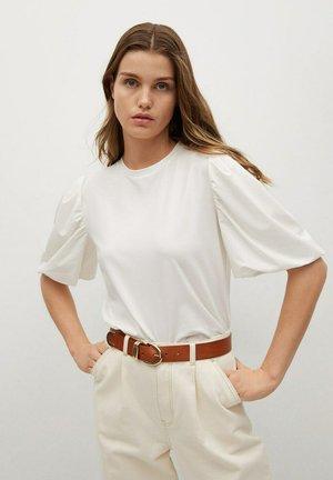T-shirt basique - gebroken wit