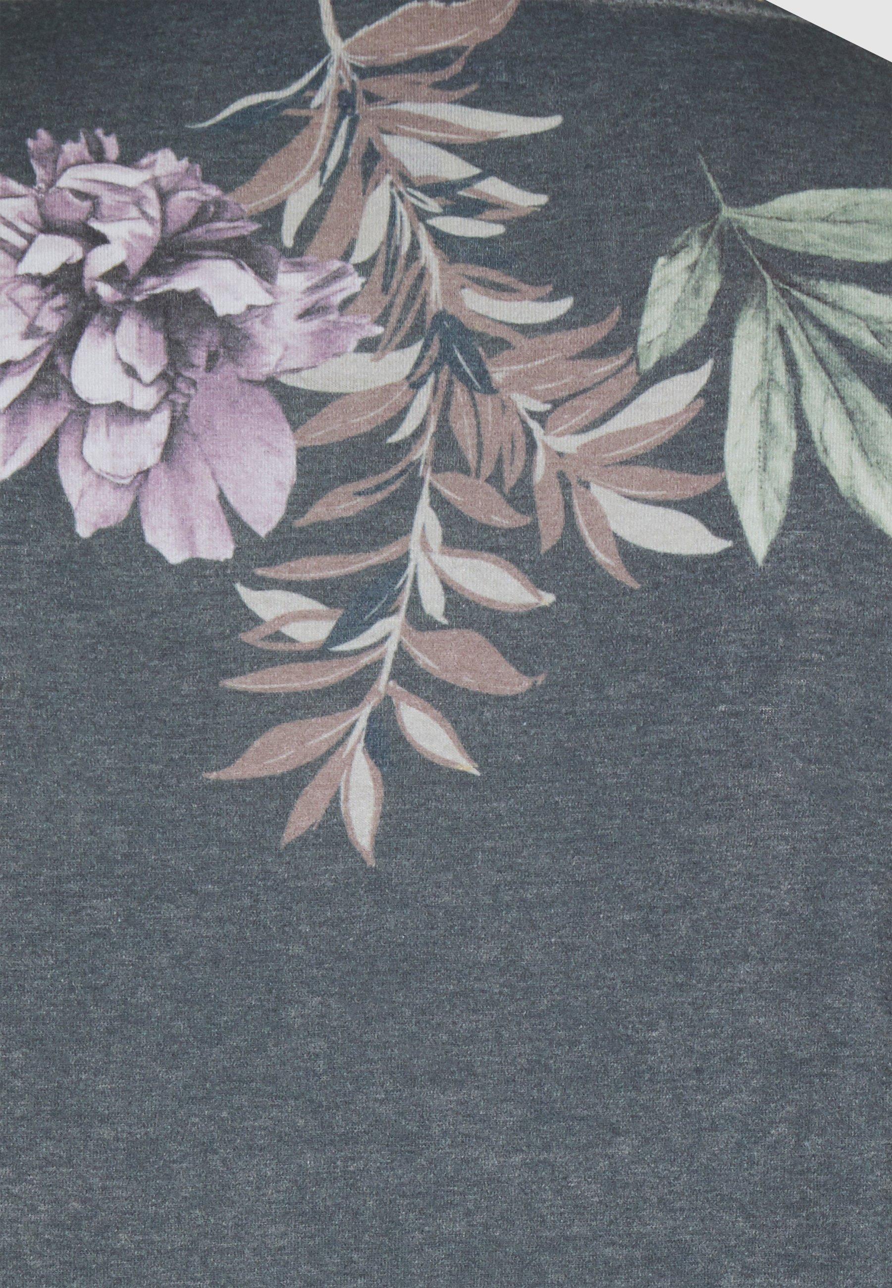 Jack & Jones JORDANIEL TEE CREW NECK - Print T-shirt - dark blue Ysvsi
