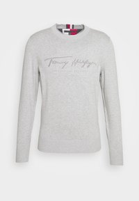 Tommy Hilfiger - TONAL AUTOGRAPH - Trui - grey - 4