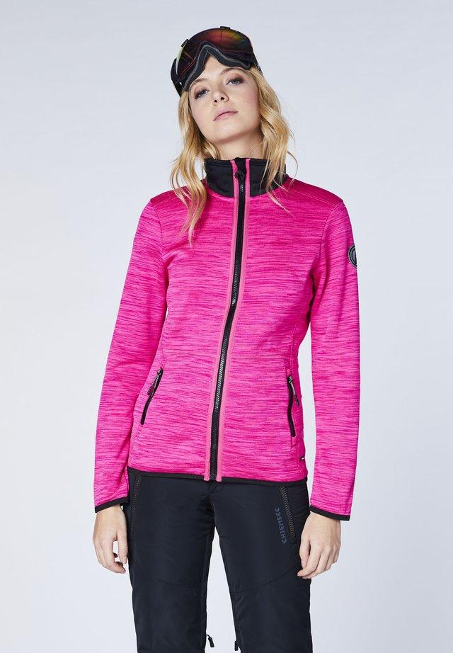 Fleece jacket - pink glo