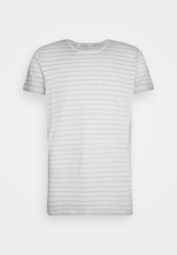 SHORT SLEEVE ROUND NECK AMERICAN SHOULDER - T-shirt con stampa - griffin