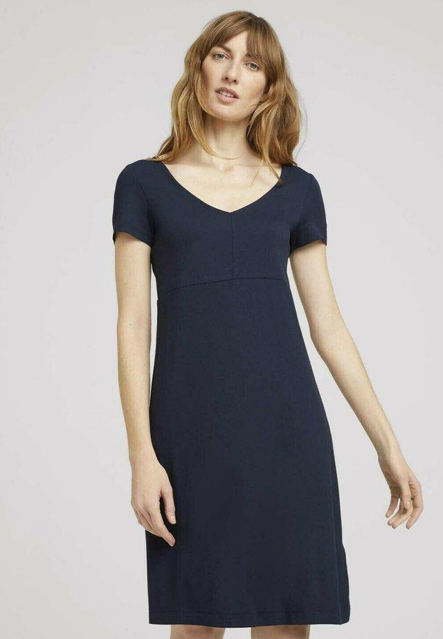 Sukienka z dżerseju - sky captain blue