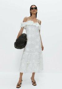 Uterqüe - Day dress - white - 1