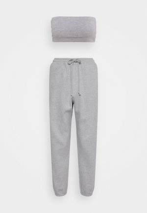 BANDEAU JOGGER SET - Tracksuit bottoms - grey