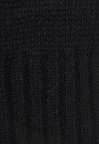 VILA PETITE - VINELLE NECK KNIT PETITE - Jumper - black - 2