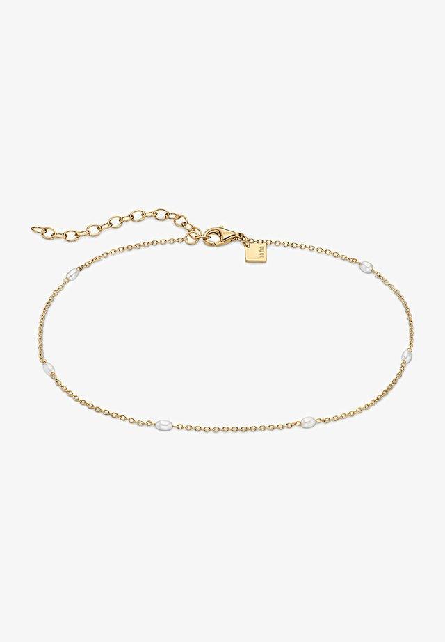 Fusskette - Bracelet - gelbgold