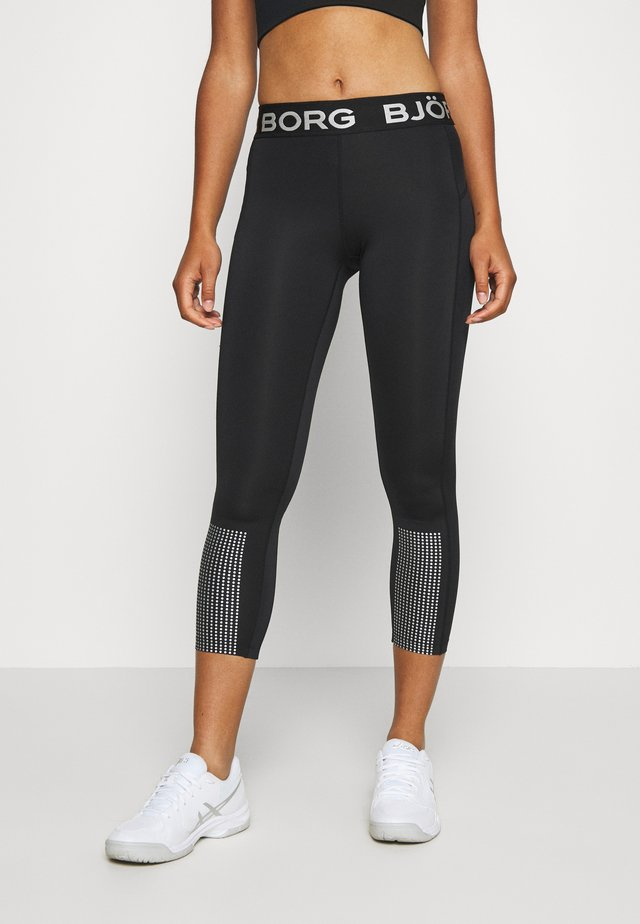 MEDAL - Leggings - black silver