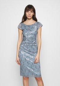 Swing - Cocktail dress / Party dress - azurblau - 0