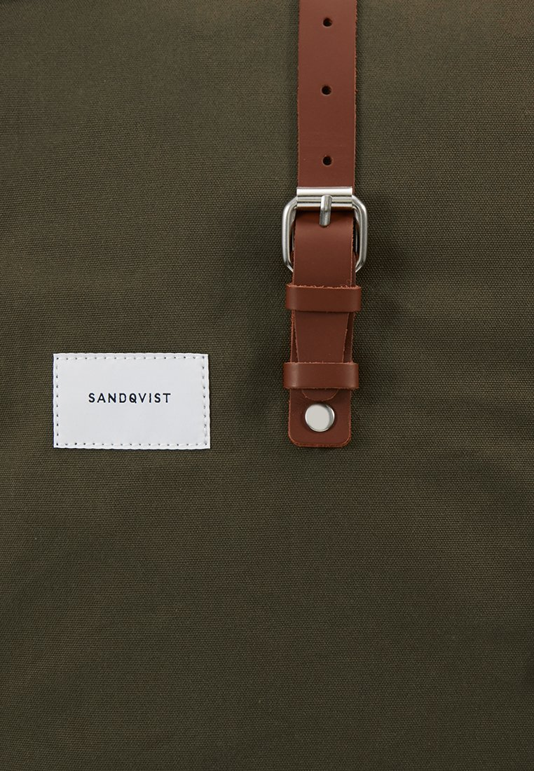 Sandqvist DANTE - Ryggsekk - olive/oliven-melert QIwR4L1EVPwu4yP