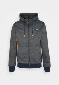 Jack & Jones - JCOKOBE ZIP HOOD - Zip-up hoodie - navy blazer - 0