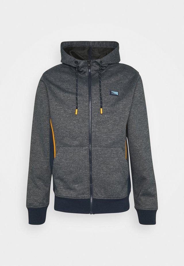 JCOKOBE ZIP HOOD - veste en sweat zippée - navy blazer