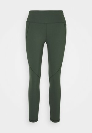 POWER SCULPT WORKOUT - Tights - olive