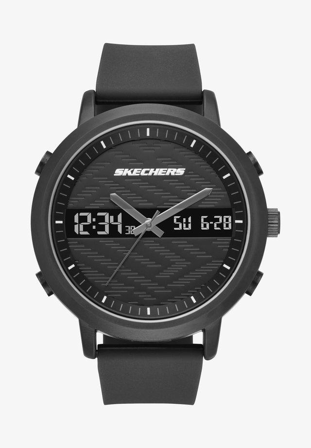 LAWNDALE - Chronograph watch - black