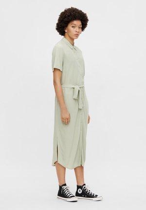 Shirt dress - desert sage