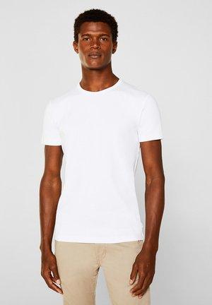 RIPP-SHIRT AUS 100% BAUMWOLLE - Basic T-shirt - white