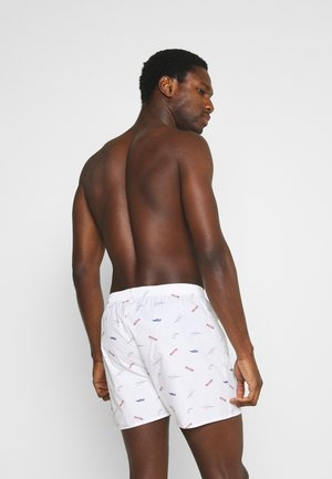SINGLE PATTERN - Boxer shorts - white