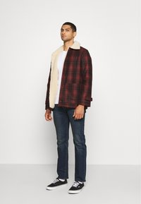 Nudie Jeans - MANGAN - Summer jacket - brick red - 1