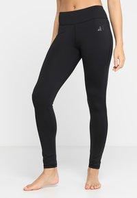 Curare Yogawear - LEGGINGS HIGH WAIST - Legging - black - 0
